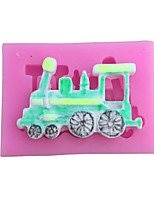 DIY Train Style Candy Fondant Cake Molds  For The Kitchen Baking Molds