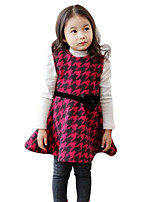 Girl's Red Clothing Set Cotton Spring / Fall