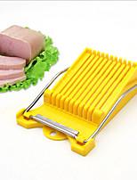 Fruit Banana Slicer Eggs and Ham Slices Cutter Convenient Fruit Stylers Knife(Random Color)