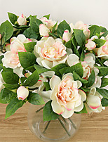 A Branch Silk Gardenia Artificial Flowers Multicolor Optional 1pc/set