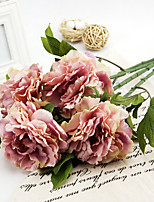 A Branch Silk Peonies Artificial Flowers 1pc/set