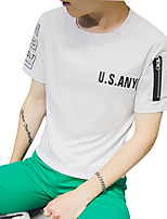 2016 new summer summer youth t-shirt short sleeve T-shirt Korean tide men's short sleeve clothes in summer
