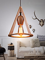 MAX 60W Pendelleuchten ,  Traditionell-Klassisch Korrektur Artikel Feature for Ministil Holz/BambusWohnzimmer / Schlafzimmer / Esszimmer