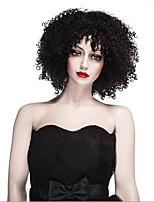 Fashion Synthetic Wigs Black Color Curly Style Synthetic Wigs