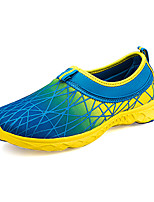 Men's Shoes Athletic Tulle Fashion Sneakers Blue / Yellow / Green / Orange
