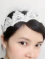 סרטי ראש / זרי פרחים כיסוי ראש נשים חתונה / אירוע מיוחד תחרה / ריינסטון חתונה / אירוע מיוחד חלק 1