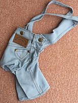 Hunde Jeans / Kleidung / Kleidung Blau / Hellblau Winter / Sommer / Frühling/Herbst Klassisch / JeansHochzeit / Modisch / Weihnachten /