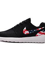 Nike Roshe One USA Flags Mens Running Shoes Black White Red Gray