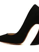 Chaussures Femme-Mariage / Bureau & Travail / Habillé / Décontracté / Soirée & Evénement-Noir / Bleu / Gris-Gros Talon-Talons / Confort /