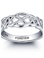 2016 Fashion Customs Name Personalized 925 Sterling Silver Finger Ring For Women