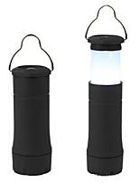 Torce LED LED 1 Modo 401-999 Lumens Impermeabili Altro Altro Campeggio/Escursionismo/Speleologia / Ciclismo / Multiuso-Altro,Nero Plastica