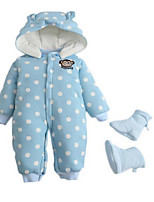 Girl's Blue Overall & Jumpsuit Cotton Winter