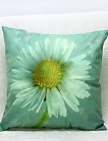 3D Chrysanthemum Pattern Velvet Pillowcase Sofa Home Decor Cushion Cover (18*18inch)