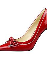 Chaussures Femme-Décontracté-Noir / Vert / Rouge / Blanc / Argent / Gris-Talon Aiguille-Talons-Talons-Laine synthétique