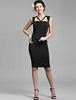 Baoyan® Women's V Neck Sleeveless Above Knee Dress-150907