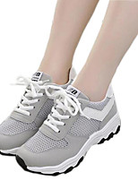 Women's Shoes Summer Tulle Breathable Comfort / Round Toe Fashion Sneakers Outdoor / Athletic / Casual
