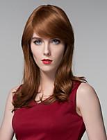 atado a la parte superior de la peluca del pelo de la mujer caliente de la moda sin tapa de onda larga y profunda remy mano
