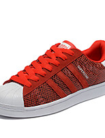 Adidas Originals Men's Shoes Outdoor / Casual Leather / Rubber Fashion Sneakers Red