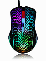 RAJFOO DN16066 2400 DPI Optical USB Wired Gaming Mouse Mice For PC Laptop MAC