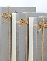 Boîtes Cadeaux(Gris,Papier durci)Thème classique- pourMariage / Commémoration / Fête prénuptiale / Fête de naissance / Bonbon seize /