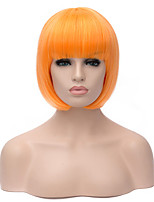 5 colors Avaiable Synthetic Cosplay Wig Straight BOBO Heat Resistant Hair Synthetic Wigs