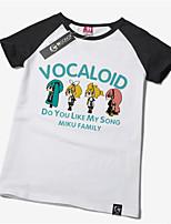 Inspired by Vocaloid Hatsune Miku Cotton T-shirt