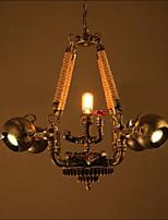3W Rustique Style mini Autres Métal Lampe suspendueSalle de séjour / Chambre à coucher / Salle à manger / Bureau/Bureau de maison /