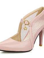 Women's Shoes Stiletto Heel/Pointed Toe Heels Party & Evening/Dress Pink/White/Gold/Almond