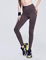 Femme Course Bas Yoga / Fitness / Course Respirable / mèche / Douceur Others Autres Vêtements de sport