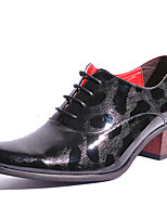 Men's Oxfords Spring Summer Fall Winter Formal Shoes Patent Leather Outdoor Office & Career Party & Evening Casual Black Gold