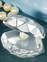 Crystal Clamshell Baby Shower Favors