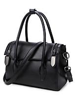 Women PU Sling Bag Shoulder Bag-Red / Gray / Black