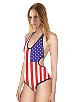 Women Slim Body Sexy Cross Straps  Piece Swimsuit