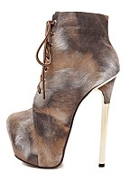 Women's Shoes Leatherette Stiletto Heel Heels / Gladiator / Basic Pump / Comfort / Novelty / Pointed Toe