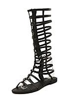 Calçados Femininos-Sandálias / Botas / Tênis Social / Palmilhas e Acessórios-Conforto / Inovador / Botas da Moda / Sapatos com Bolsa