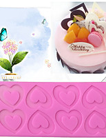 Heart  Style Candy Fondant Cake Molds  For The Kitchen Baking Molds