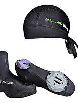 4 Colors Outdoor Bike Cycling Bandana/Cap+Bicycle Shoe Covers/Overshoes M-XL Riding Accessory