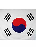 New 3X5 Feet Large South Korea Flag Polyester The Korean National Banner Home Decor(Without flagpole)