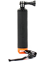 LOTOPOP Floating Grip Monopod for GoPro SJ4000 Xiaoyi - Black + Orange