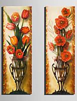 Natura morta / Botanica Print Canvas Due pannelli Pronto da appendere,Verticale