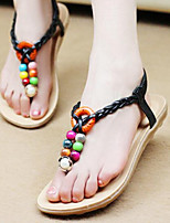 Women's Shoes Fashion All Match Flipflop Bohemian Style Flat Heel Comfort / Round Toe Sandals Outdoor / Casual