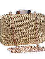 L.WEST® Women's Handmade High-grade Weaving Party/Evening Bag