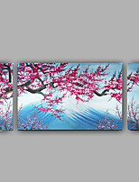 100% Handmade Oil Painting On Canvas abstract Mount Fuji Japan Cherry Blossoms Wall Art With Stretched Frame