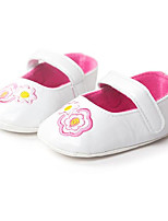 Baby Shoes Dress / Casual PU Flats White