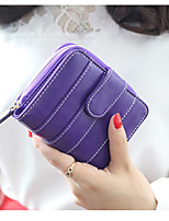 Travel WalletForTravel Storage PU Leather Blue / Purple / Pink 11.5*10