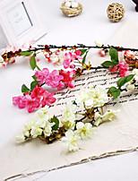 sakura de soie fleurs artificielles multicolores 1pc option / set