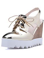 Women's Shoes  Wedge Heel Wedges / Platform / Slingback / Square Toe Sandals Outdoor / Dress / Casual