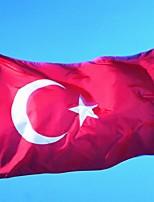 pavo bandera nacional bandera turca 90 x 150 cm (sin mástil)