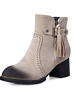 Women's Shoes Synthetic / Leatherette Low Heel Platform / Outdoor / Office & Career / Work & Duty / Party &