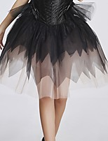 YUIYE® New Arrival Sexy Women Short Dress Black Solid  Dancing Party Skirts Christmas Halloween Fancy Dress Party Skirts